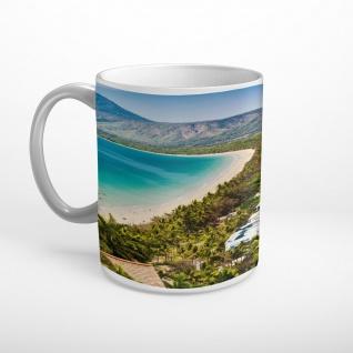 Meer Strand Palmen Tasse T1850