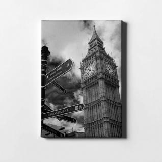 London Big Ben City Leinwand L0411