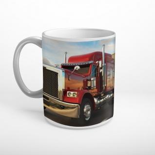 Truck LKW USA Nahaufnahme Tasse T0538