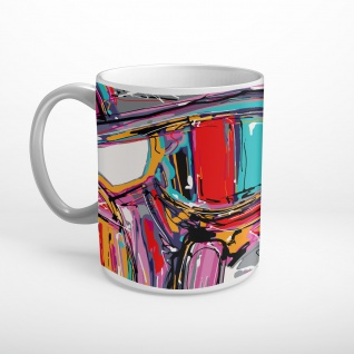 Graffiti Abstrakt Kunst Tasse T0637