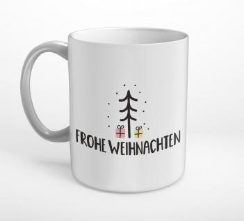 Frohe Weihnachten Weihnachtsbaum Tasse T0347