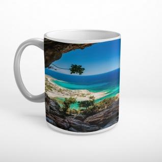 Meer Strand Höhle Tasse T1745