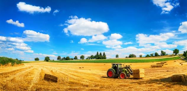 Traktor Feld Ernte Sommer Strohballen Tasse T0487 - Vorschau 2