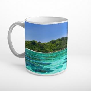 Meer Strand Insel Tasse T1926