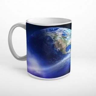 Erde Planet Weltall Tasse T1712