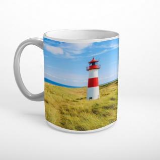 Leuchtturm Meer Strand Sylt Tasse T1980