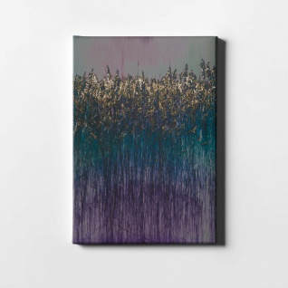 Schilf Abstrakt Natur Pflanze Leinwand L0410