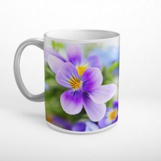 Blumen Blüten Sonnenschein Tasse T0991