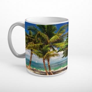 Strand Meer Palmen Tasse T1874