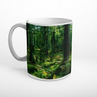 Wald Bäume Natur Tasse T2261