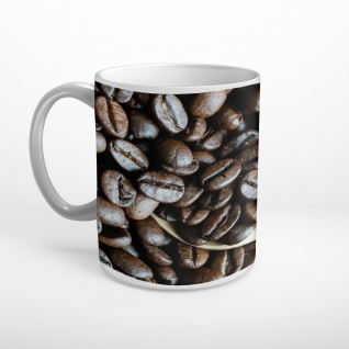 Kaffee Bohnen Coffee Tasse T2014