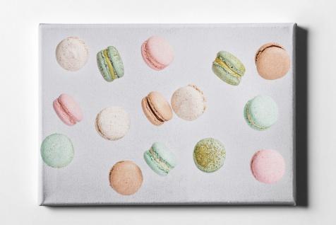 Macarons Muster Leinwand L0066