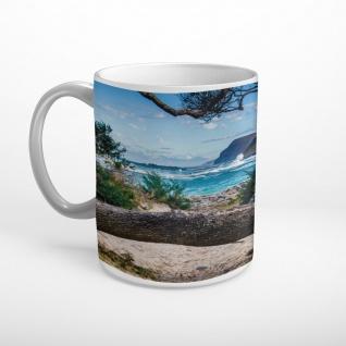 Strand Bucht Meer Insel Tasse T0650
