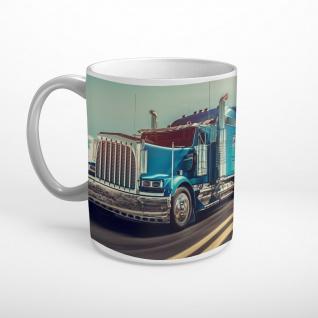 LKW Truck Highway Autobahn Tasse T1154