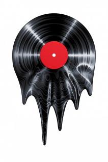 Vinyl Schallplatte Musik Illustration Kunstdruck Poster P0504