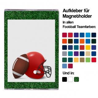 Skin Aufkleber für Football Trading Card Magnetholder - 10er Pack
