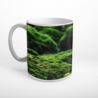 Wald Moos Natur Tasse T2258
