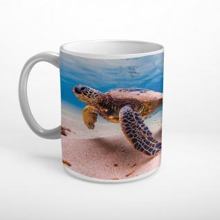 Schildkröte Meeresgrund Tasse T0587