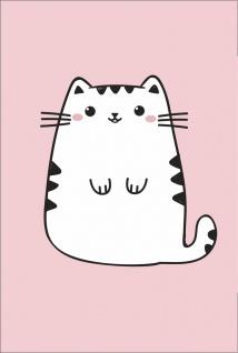 Comic Katze Cat Kunstdruck Poster P0280
