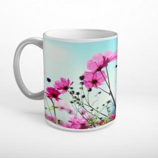 Blumen Blüten Sonnenschein Tasse T0993