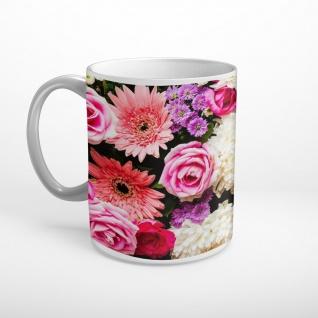 Blume Blüten Blumenstrauß Tasse T0997