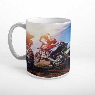 Motorcross Start Action Tasse T0519