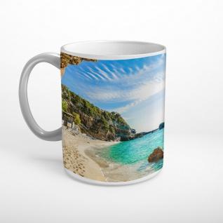 Strand Bucht Meer Tasse T0635