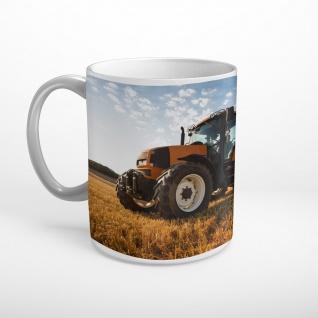Traktor Feld Landwirtschaft Tasse T0964