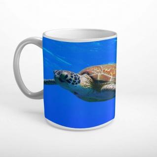 Schildkröte Meer Ozean Tier Tasse T2089