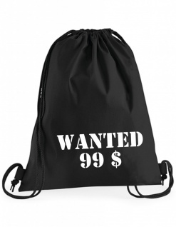 Wanted 99$ Beutel B0042