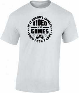 Gaming Videospiele T-Shirt T0158