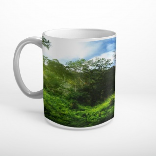 Wald Bäume Natur Tasse T1809