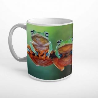 Frösche Ast Tiere Tasse T2060