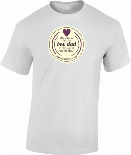 Best Dad Vatertag T-Shirt T0155