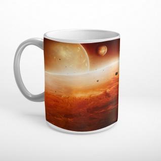 Planet Weltall Universum Tasse T1720