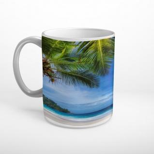 Meer Strand Palmen Insel Tasse T1183