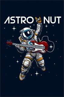 Astronaut Gitarre Kunstdruck Poster P0299