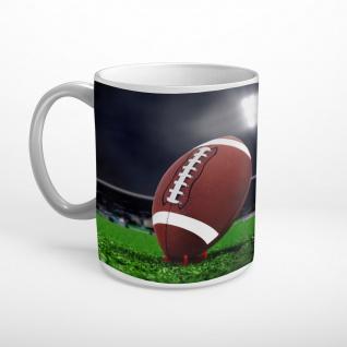 American Football Spielfeld Kick Off Tasse T1985