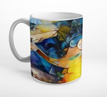 Abstrakt Kunst Frau Art Tasse T0799