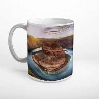 Horseshoe Grand Canyon USA Colorado River Tasse T2002