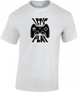 Let's play Herren T-Shirt T0083