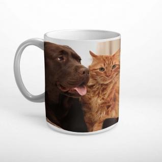 Hund Katze Tier Haustiere Tasse T1182