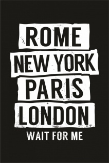 Rom New York Paris London Kunstdruck Poster P0289