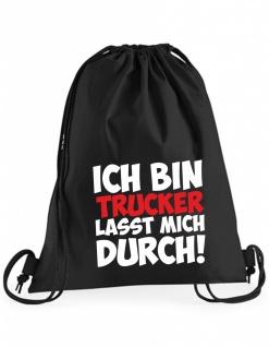 Ich bin Trucker Beutel B0055