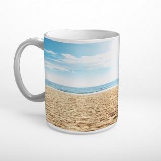 Meer Strand Sand Tasse T1844