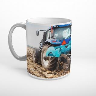 Traktor Trecker Feld Pflug Landwirtschaft Tasse T1203