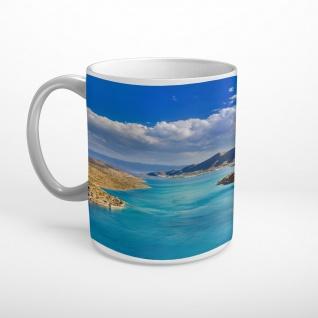 Meer Insel Felsen Landschaft Tasse T1746