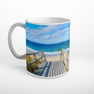 Sylt Strand Meer Tasse T1359