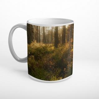 Wald Bäume Natur Tasse T2290