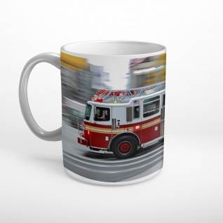 Feuerwehr USA Truck NY Tasse T0989